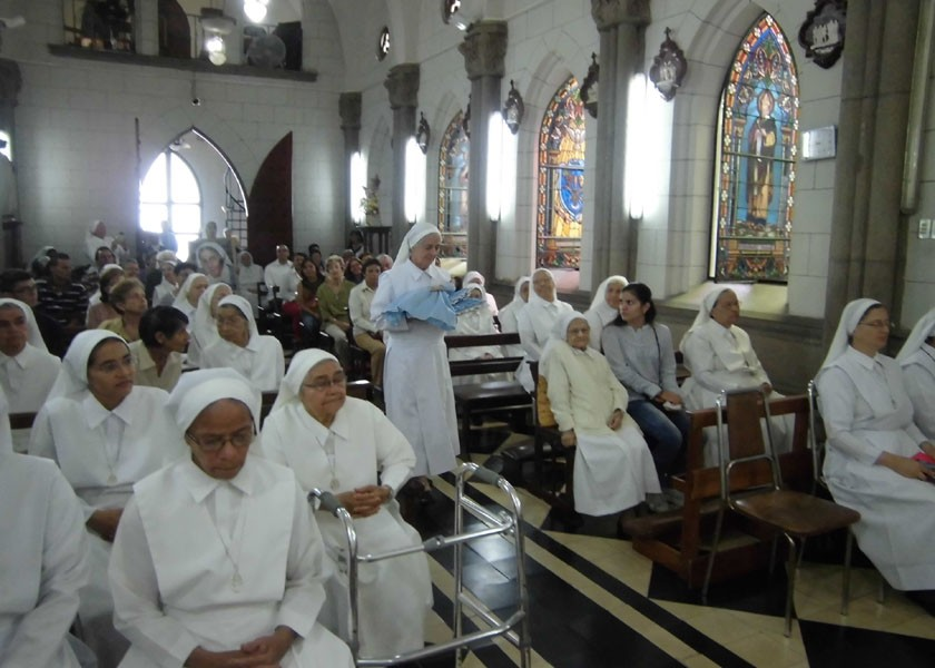 8 de septiembre, Conmemoración de los votos perpetuos de Madre Carmen