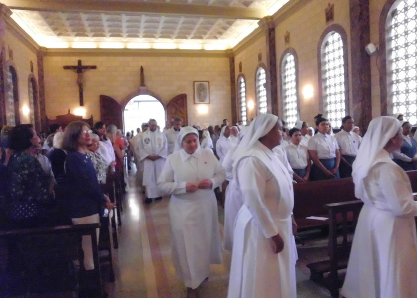 Misa en memoria de la Beata Madre Carmen Rendiles, 9 de mayo de 2019