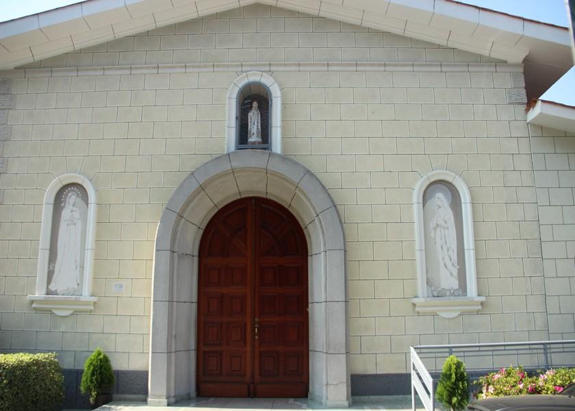 Lugar donde reposan los restos de la Madre Carmen Rendiles