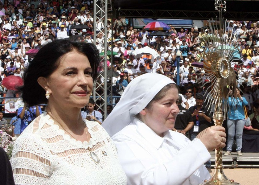Ceremonia de Beatificacion Madre Carmen Rendiles