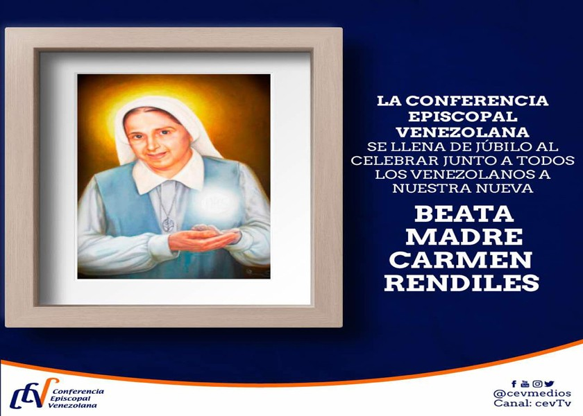 Ceremonia de Beatificacion Madre Carmen Rendiles